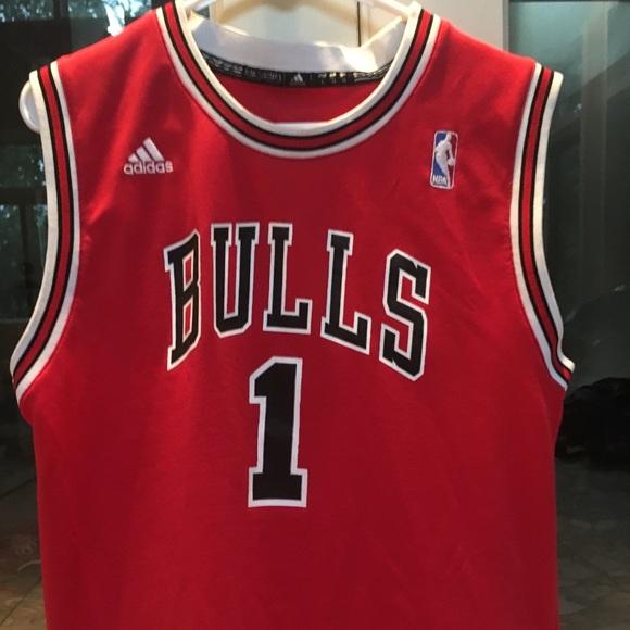 best website d6c69 2b166 Authentic Derrick Rose Chicago Bulls Jersey